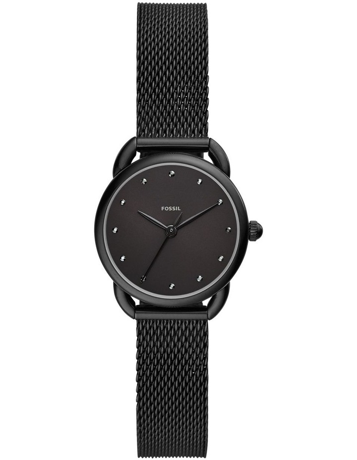 Fossil Tailor Women Black Stainless Steel Watch ES4489 image 1