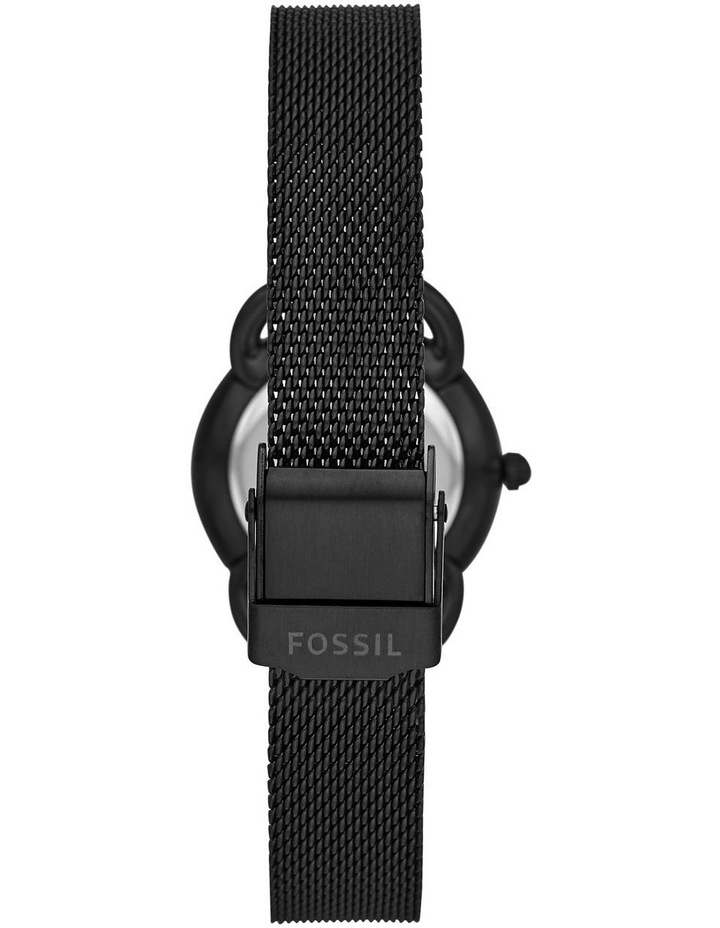 Fossil Tailor Women Black Stainless Steel Watch ES4489 image 3