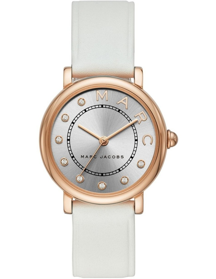 Classic Women White Leather Watch image 1