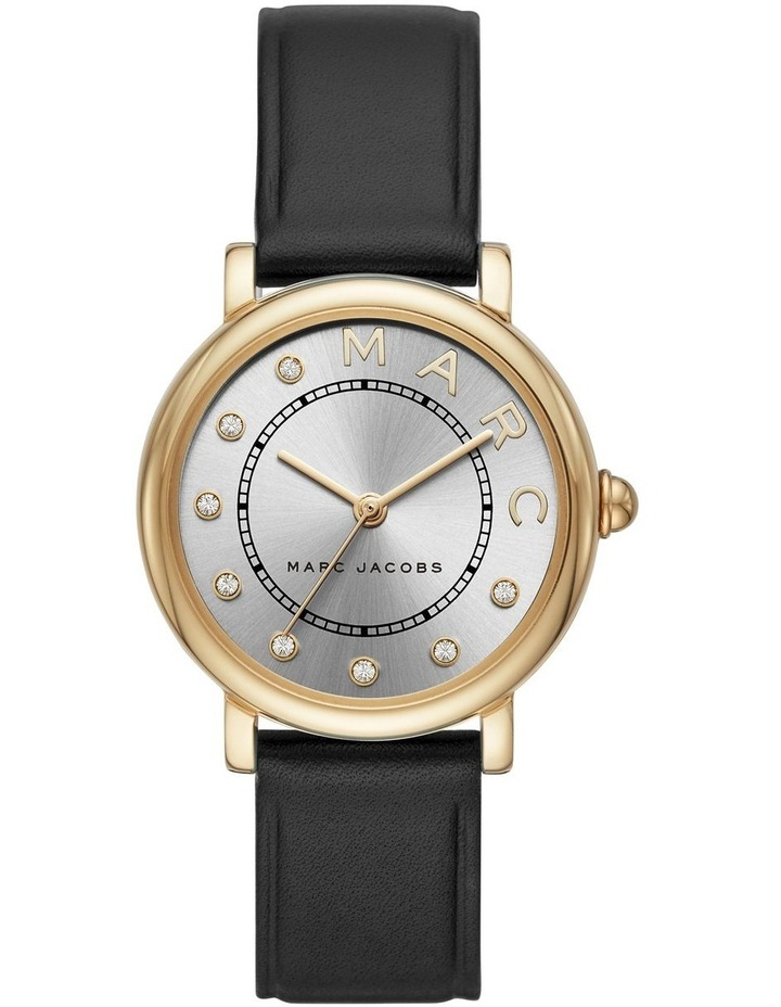 Marc Jacobs Marc Jacobs Classic Women Black Leather Watch MJ1641 image 1