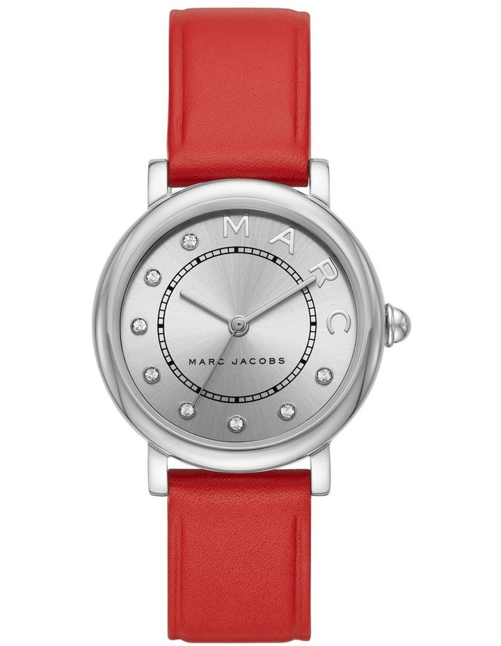 Classic Women Red Leather Watch image 1