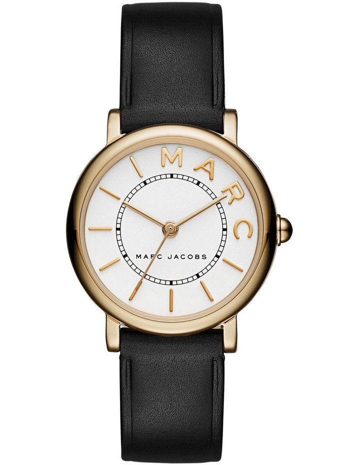 Marc Jacobs Marc Jacobs Classic Women Black Leather Watch MJ1537 image 1