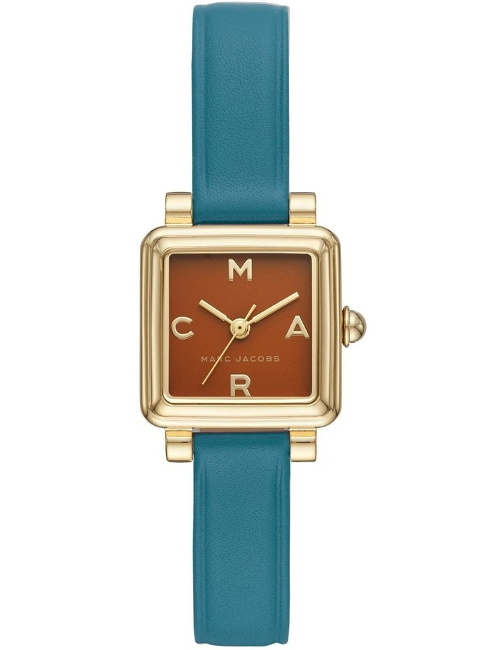 Blue Leather Watch image 1