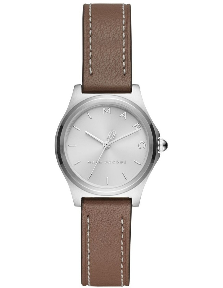 Marc Jacobs Henry Women Grey Leather Watch MJ1643 image 1