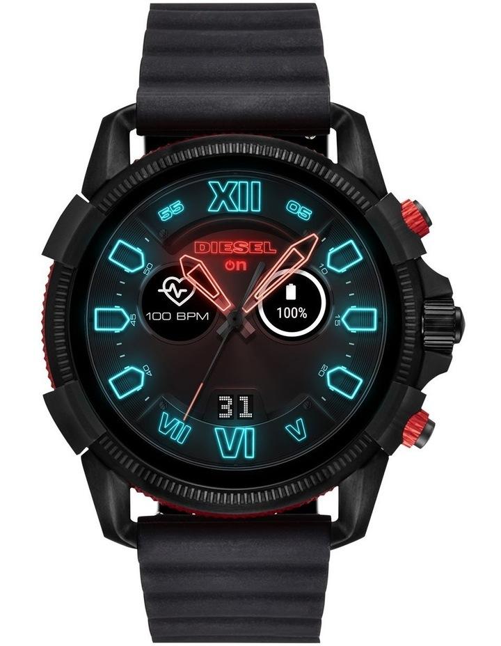 Full Guard 2.5 Men Black Silicone Smartwatch DZT2010 image 1