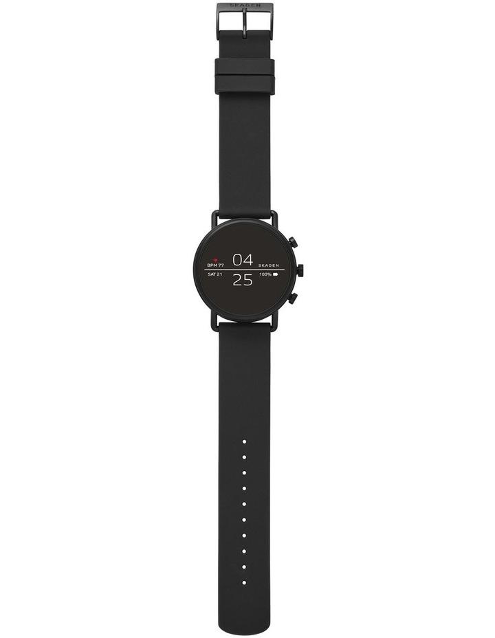 Falster Men Black Silicone Smartwatch SKT5100 image 4