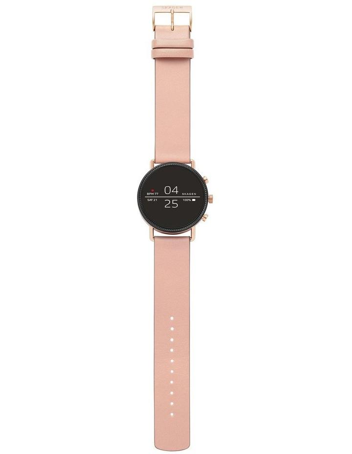 Falster Women Pink Silicone Smartwatch SKT5107 image 2
