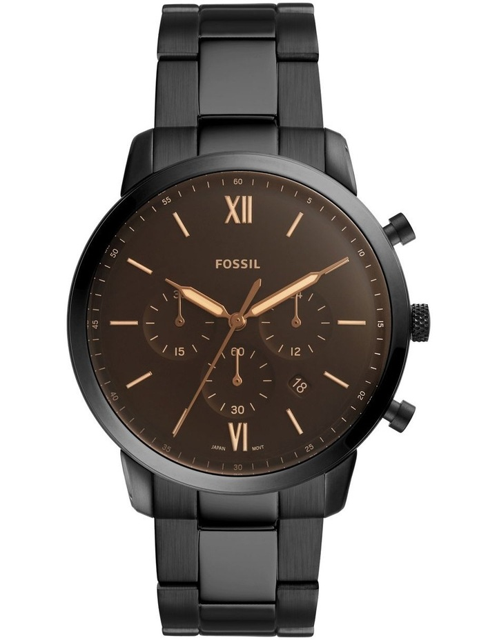 Neutra Black Chronograph Watch FS5525 image 1