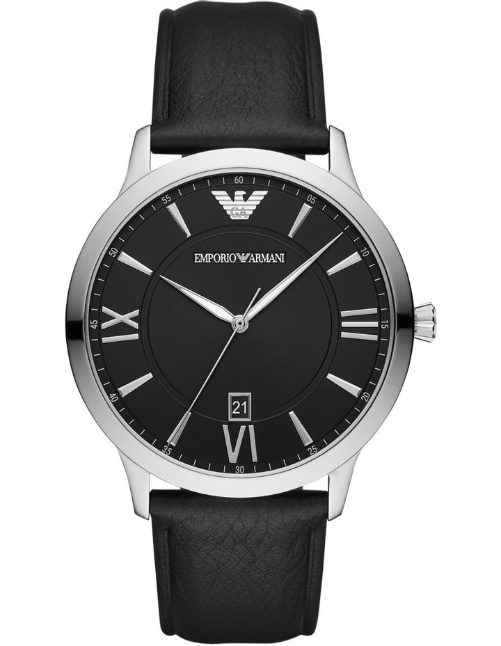 Black Analogue Watch AR11210 image 1