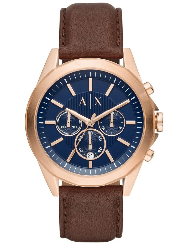 Brown Chronograph Watch AX2626 image 1