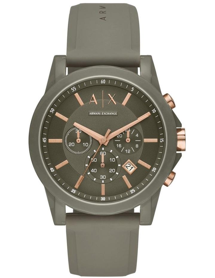 Green Chronograph Watch AX1341 image 1