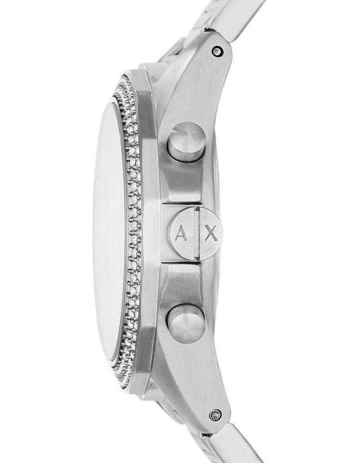 Silver-Tone Analogue Watch AX5650 image 2