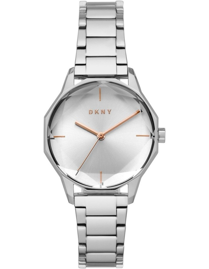 Round Cityspire Silver-Tone Analogue Watch NY2793 image 1