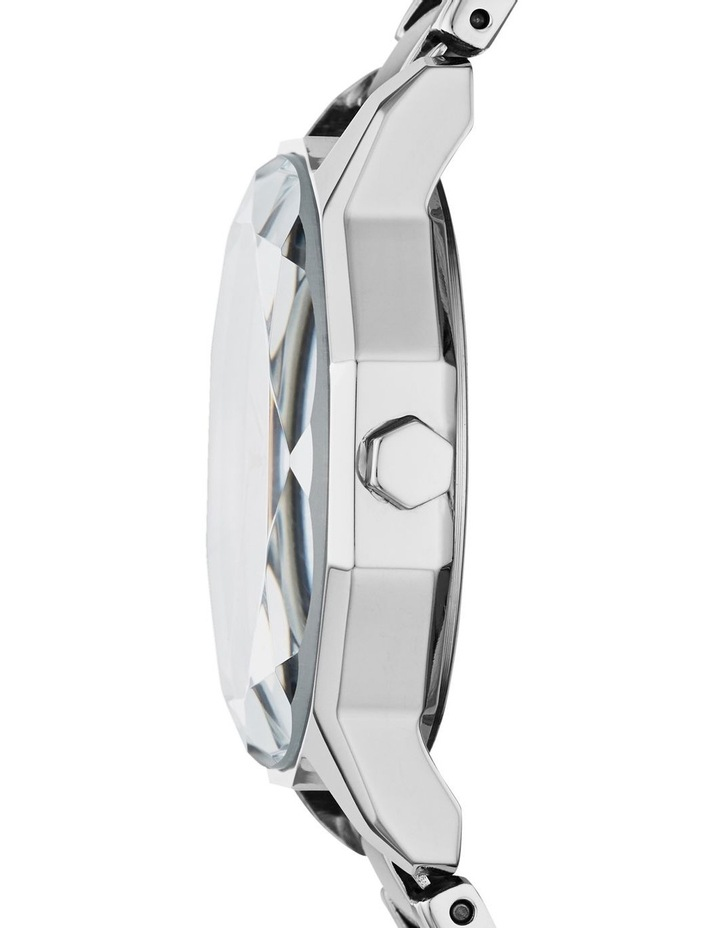Round Cityspire Silver-Tone Analogue Watch NY2793 image 2