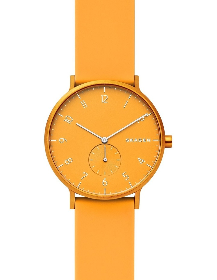 Aaren Kulor Yellow Silicone Analog Watch SKW6510 image 1
