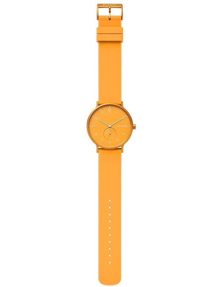 Aaren Kulor Yellow Silicone Analog Watch SKW6510 image 3