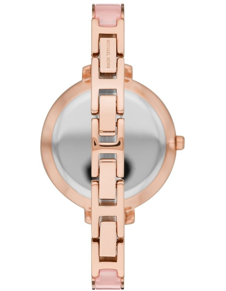 Jaryn Pink Analogue Watch MK4343 image 1