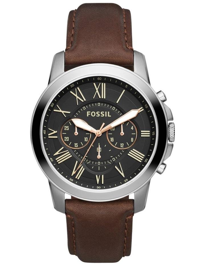 Grant Dark Brown Chronograph Watch FS4813 image 1