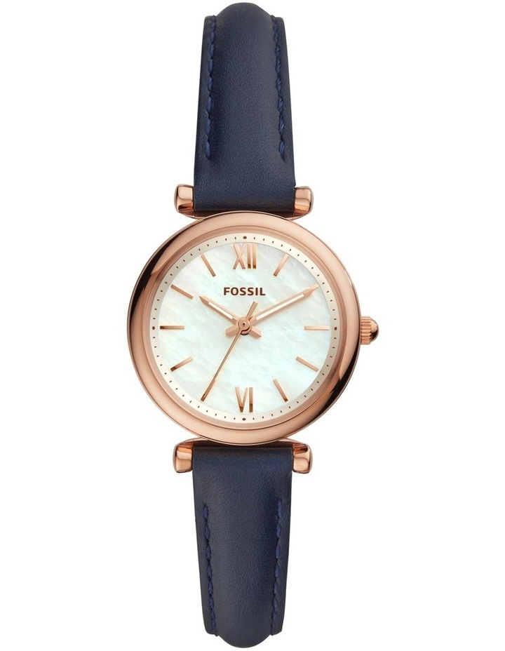 Carlie Mini Navy Analogue Watch ES4502 image 1