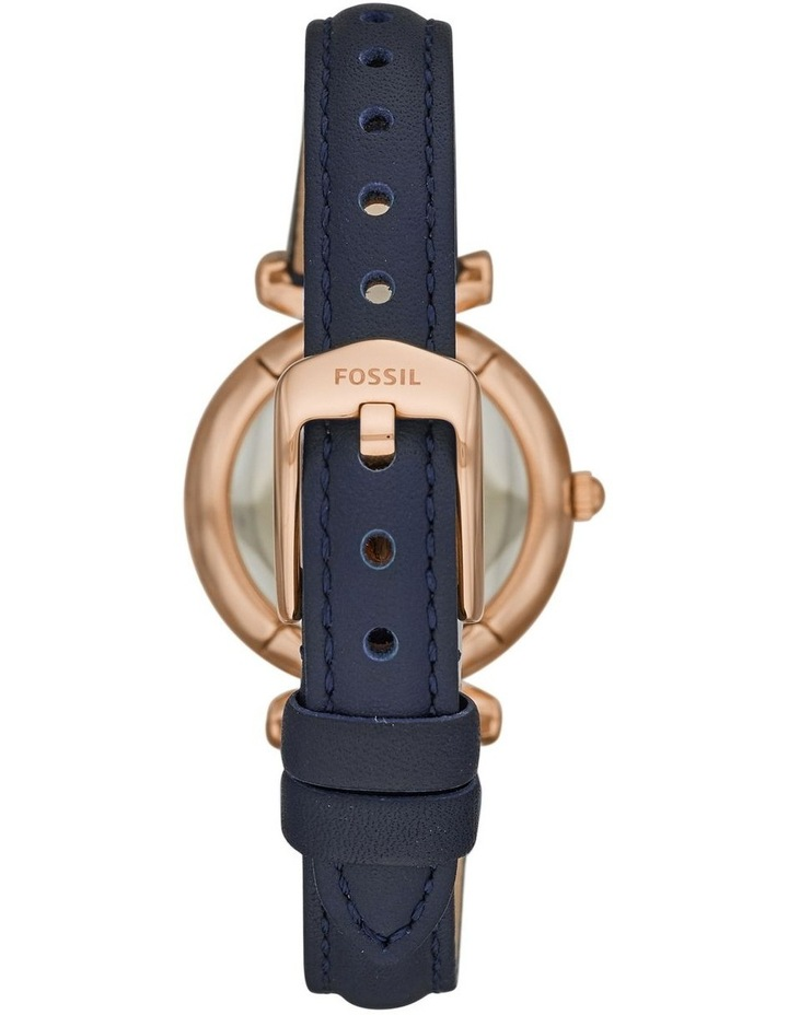 Carlie Mini Navy Analogue Watch ES4502 image 3