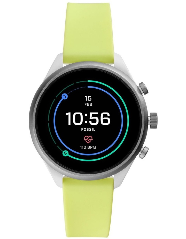 Fossil Sport 41mm Green Smartwatch FTW6028 image 1