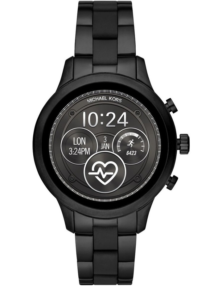 Runway Black Display Smartwatch MKT5058 image 1