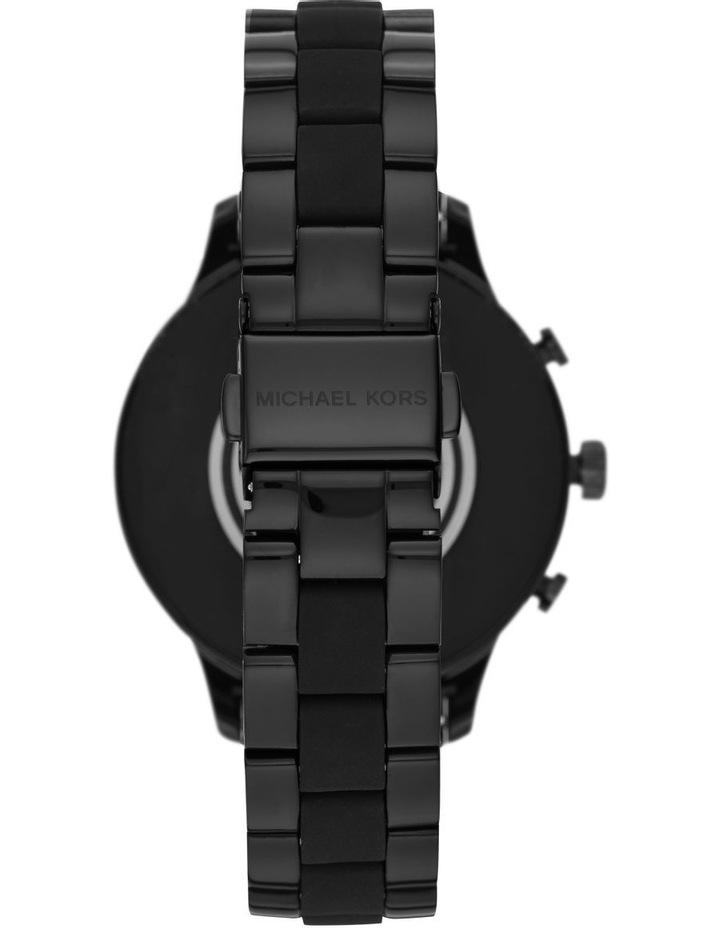 Runway Black Display Smartwatch MKT5058 image 3