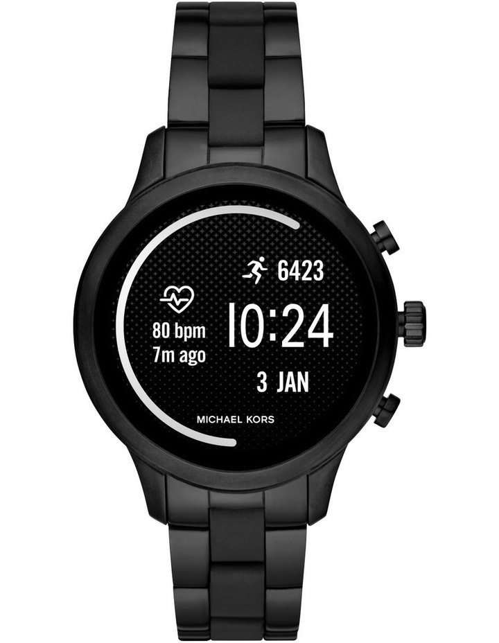 Runway Black Display Smartwatch MKT5058 image 5