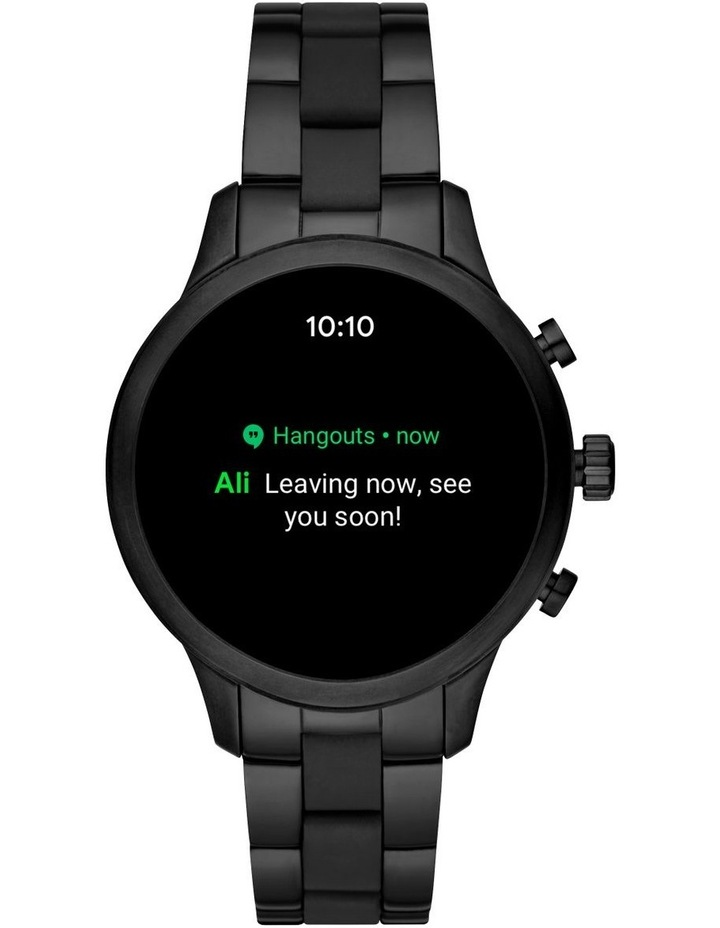 Runway Black Display Smartwatch MKT5058 image 6