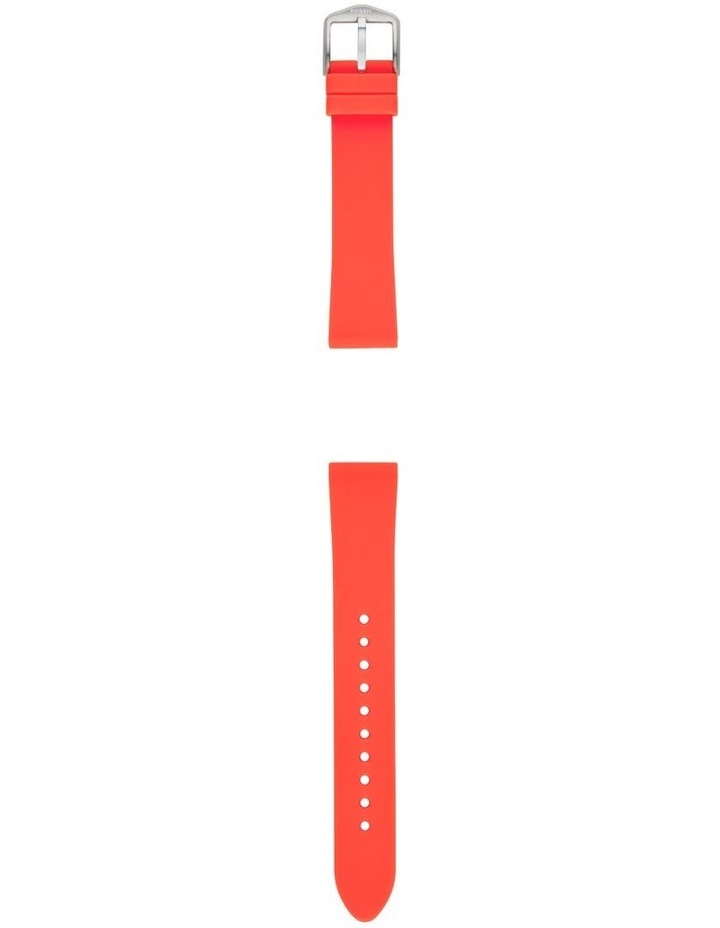 S181396 18mm Red Silicone Strap image 2