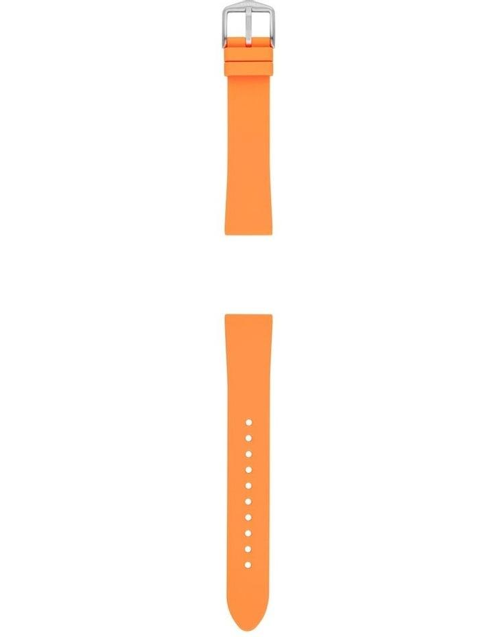 S181400 18mm Tangerine Silicone Strap image 2