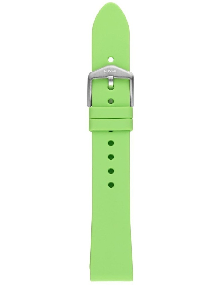 S181404 18mm Lime Silicone Strap image 1