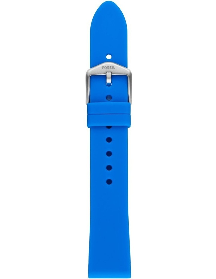 S181410 18mm Ocean Silicone Strap image 1