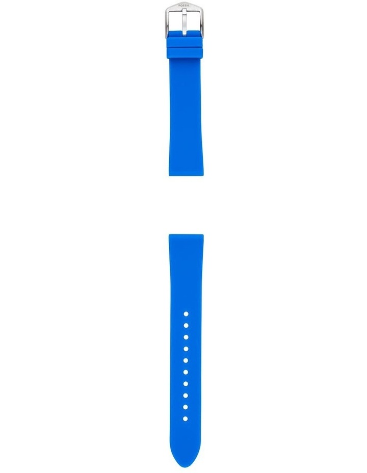 S181410 18mm Ocean Silicone Strap image 2
