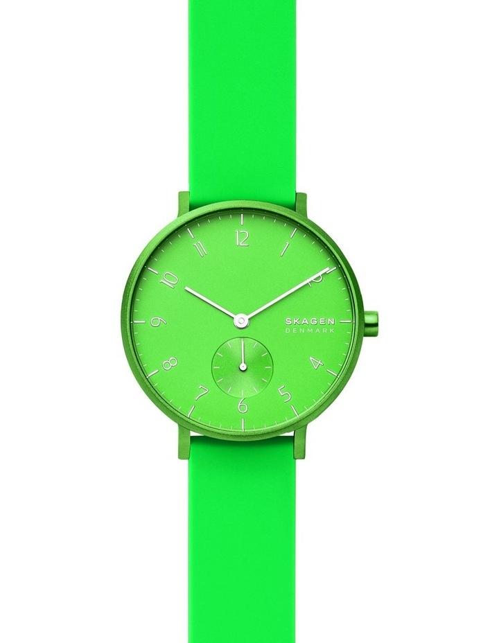 SKW2819 Aaren Kulor Neon Green Silicone Watch image 1