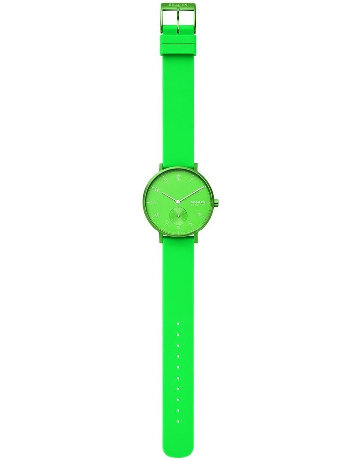 SKW2819 Aaren Kulor Neon Green Silicone Watch image 4