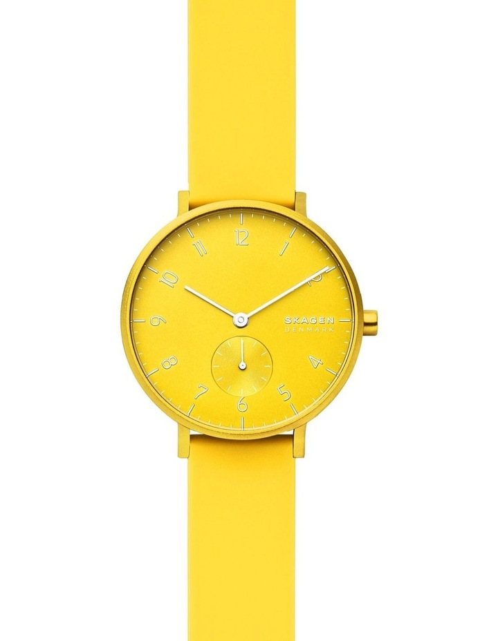 SKW2820 Aaren Kulor Neon Yellow Silicone Watch image 1