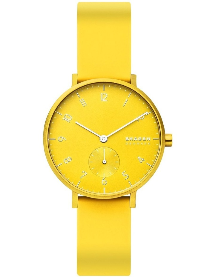 SKW2820 Aaren Kulor Neon Yellow Silicone Watch image 2