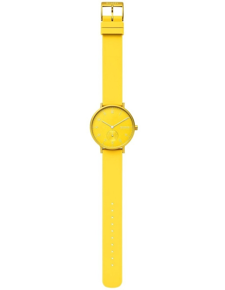 SKW2820 Aaren Kulor Neon Yellow Silicone Watch image 4