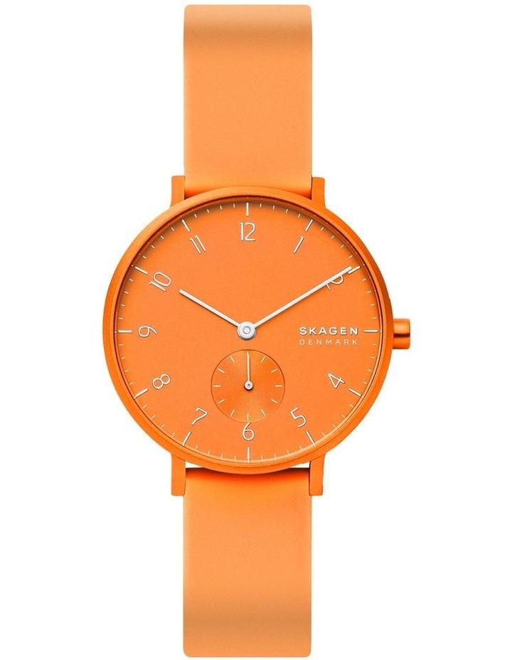 SKW2821 Aaren Kulor Neon Orange Silicone Watch image 2