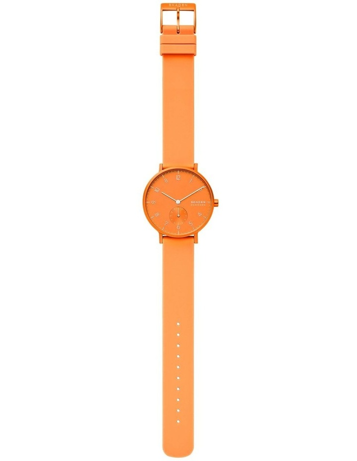 SKW2821 Aaren Kulor Neon Orange Silicone Watch image 4