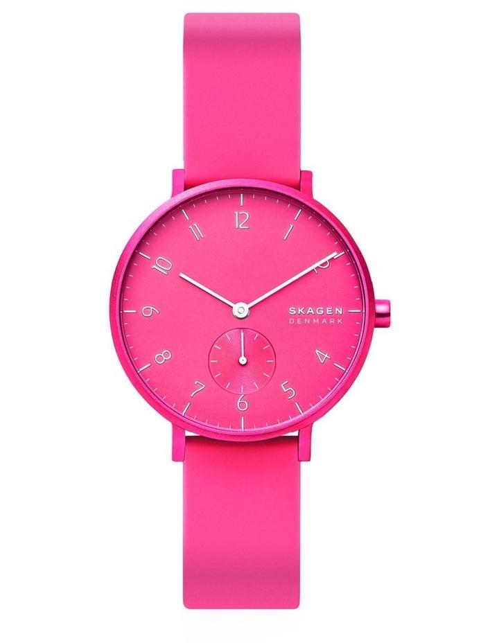 SKW2822 Aaren Kulor Neon Pink Silicone Watch image 2
