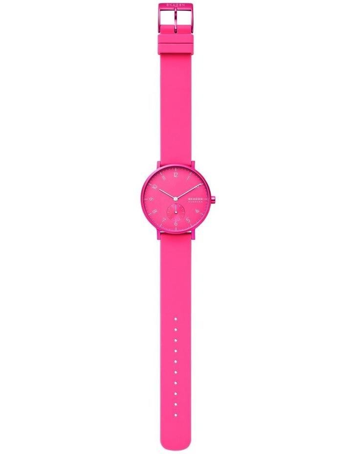 SKW2822 Aaren Kulor Neon Pink Silicone Watch image 4