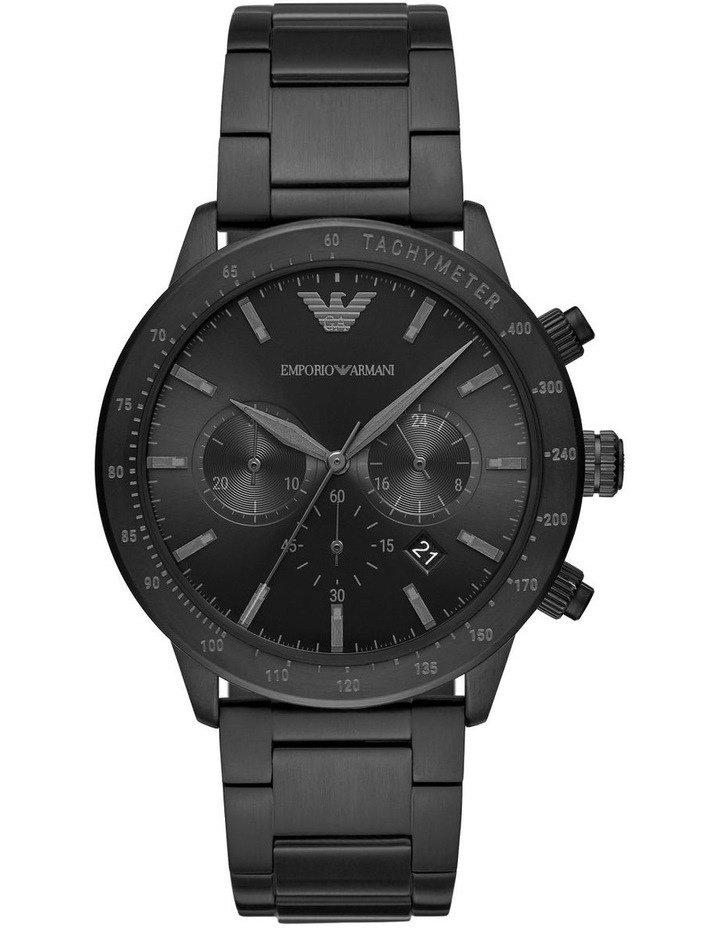 Black Chronograph Watch AR11242 image 1