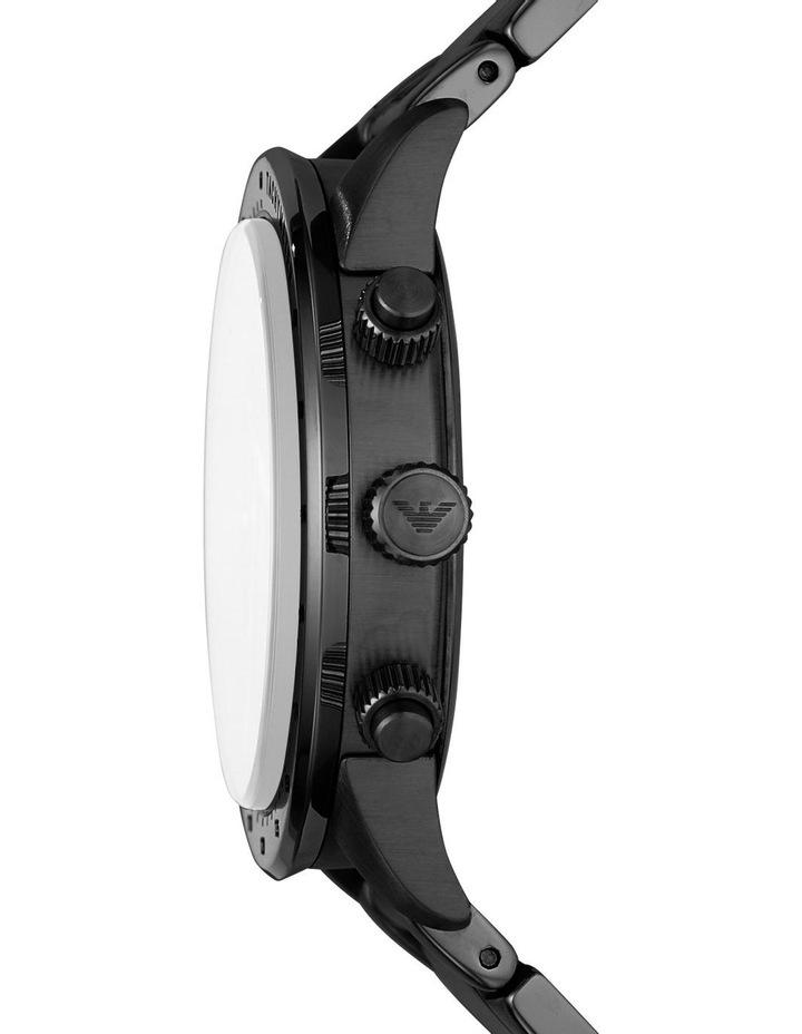 Black Chronograph Watch AR11242 image 3