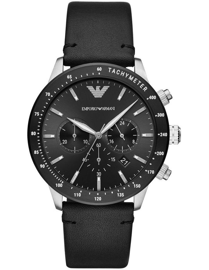 Black Chronograph Watch AR11243 image 1