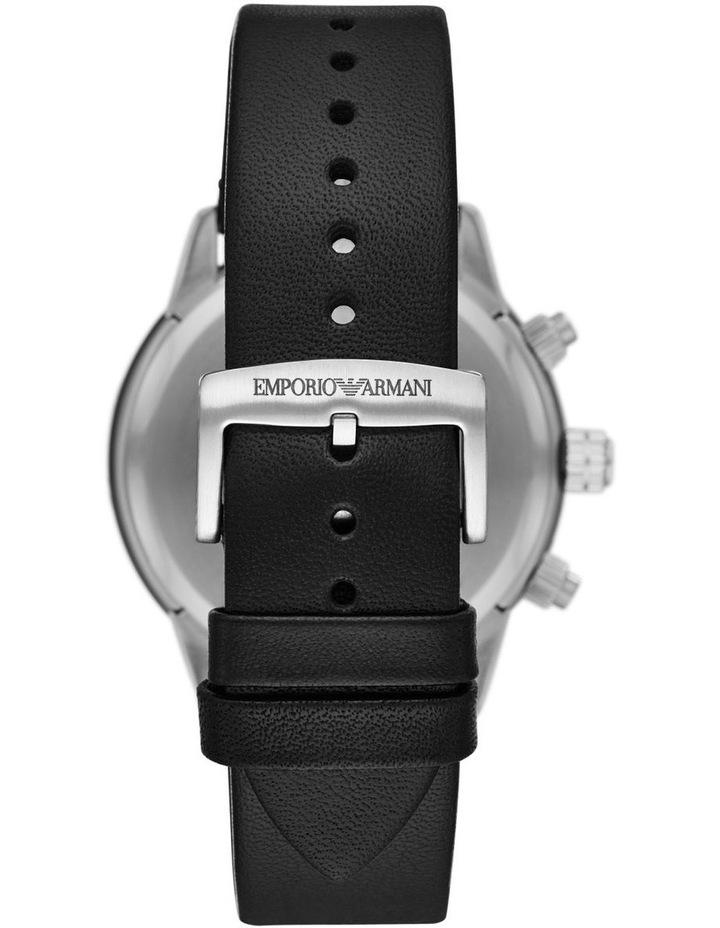 Black Chronograph Watch AR11243 image 2