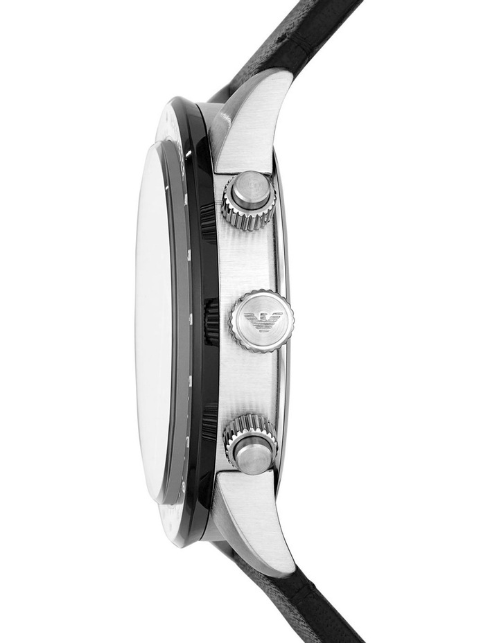 Black Chronograph Watch AR11243 image 3