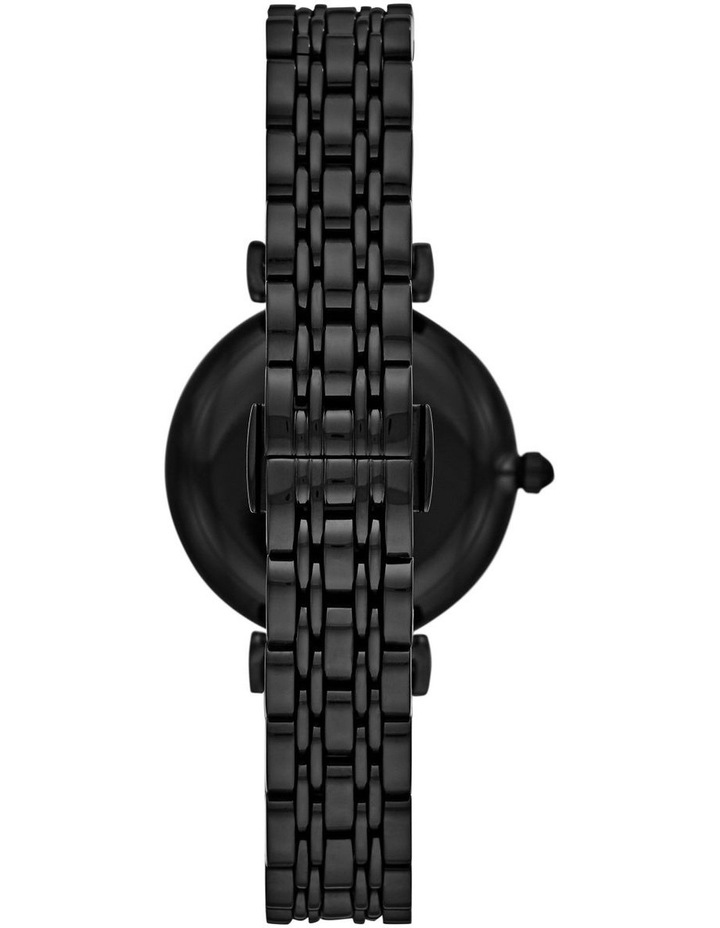 Black Analogue Watch AR11245 image 2