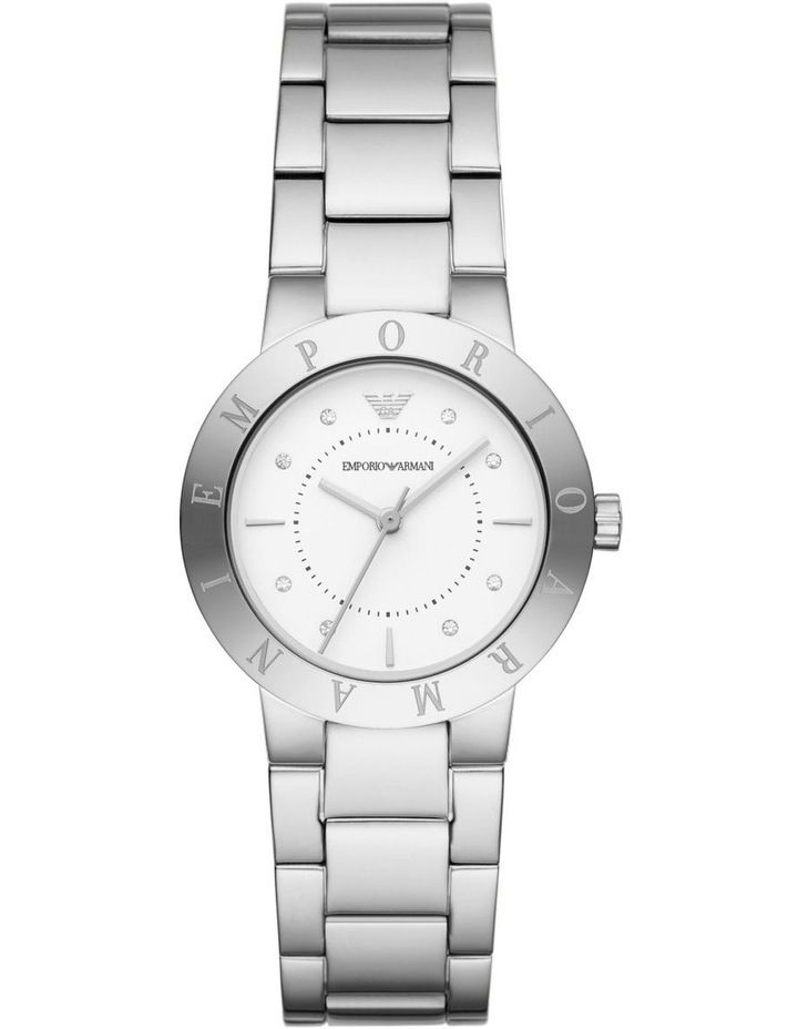 Silver Analogue Watch AR11250 image 1